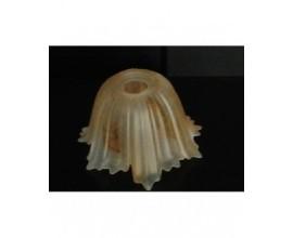 coppetta ricambio in vetro per lampadario tazzina per sostituzione o rinnovo