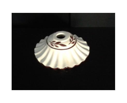 ricambio lampadario tazzina in ceramica lucido per lampadario decorata