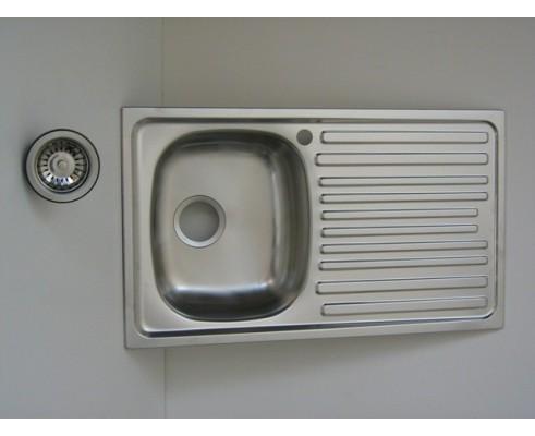 Lavello per cucina inox incasso 1 vascchetta