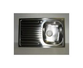 Lavello cucina incasso inox cm 90
